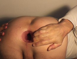 Sweet gay anal fisting shots Image 8