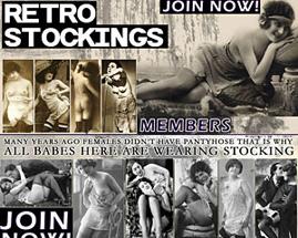 retro stockings