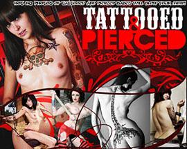 tattooed and pierced