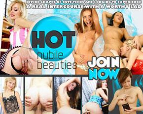 hot nubile beauties
