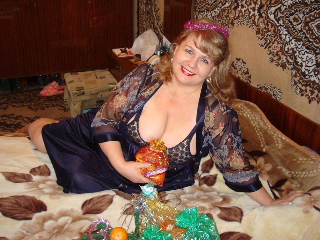 частное фото российских женщин за 40