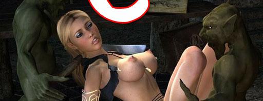 Sex war of orcs and elves