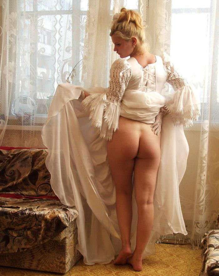 фото обнаженных красивых невест