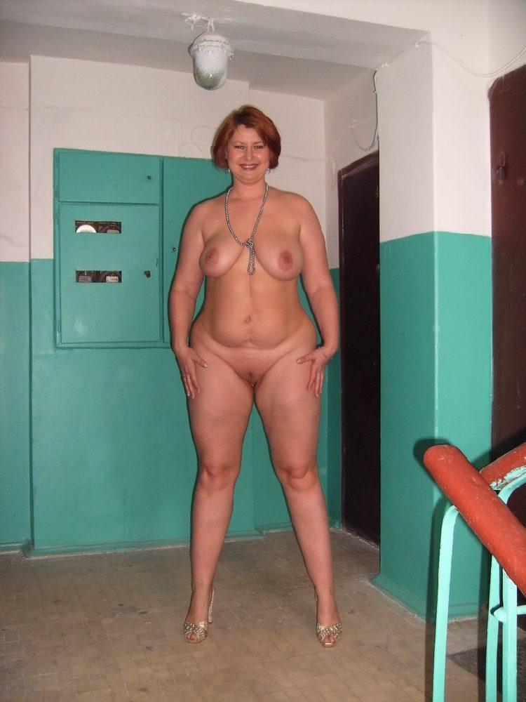полная жена голая фото