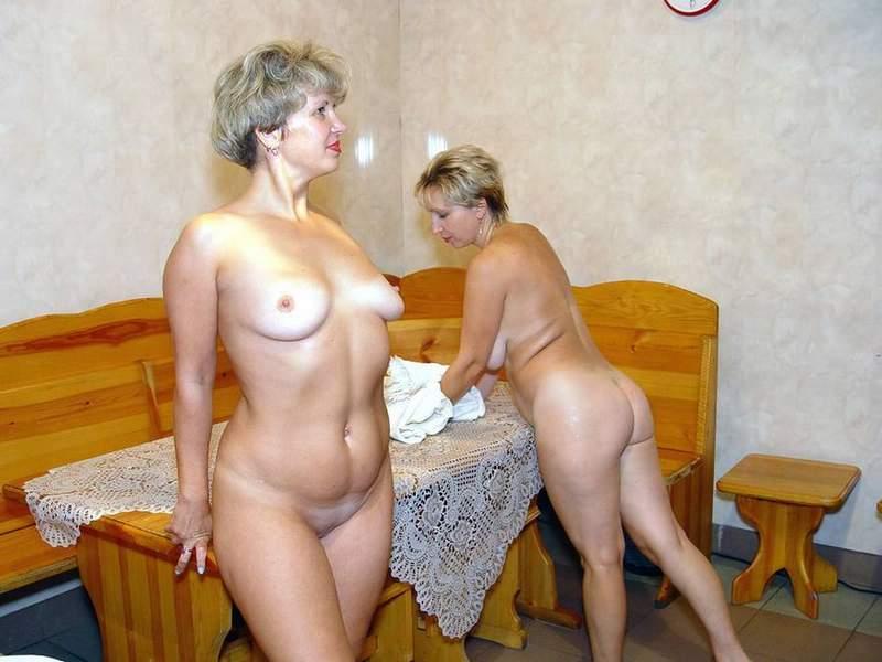фото зрелой дамы в сауне