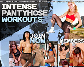intense pantyhose workouts
