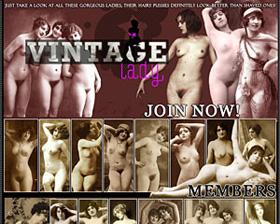 vintage lady