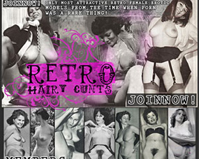 retro hairy cunts