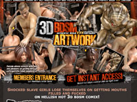 3D BDSM Artwork
