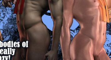 3d gay comics