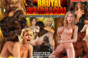 Rough Interracial 3D porn