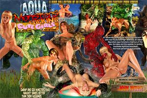 Aqua Creatures Fucking Cute Girls