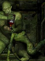 cartoon monster sex