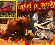 anime 3d monster