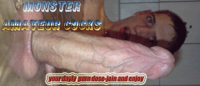 MONSTER AMATEUR COCKS