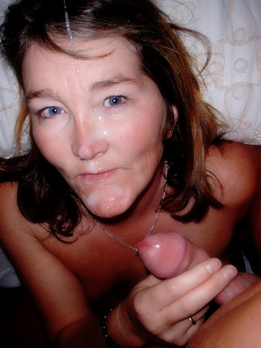 матери лицо кончил порно на