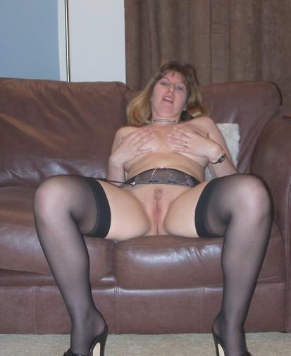 Homemade milf stockings