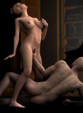 3D porn fantasies