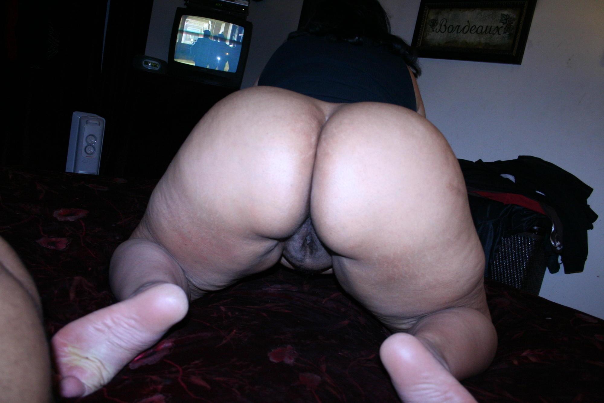 bbw nude bent over