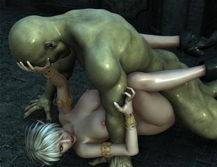 sexy 3d crestures