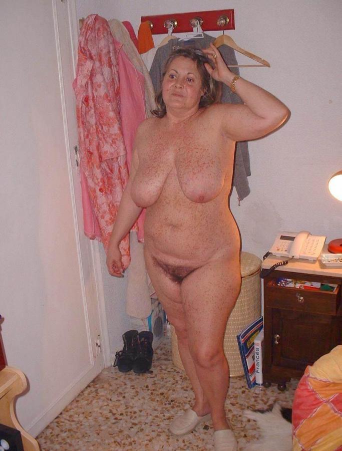 И Старая Жена Голая