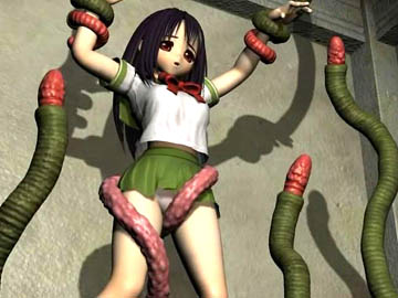 Anime monster 3D hentai