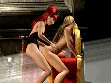 3D animated adult movie
