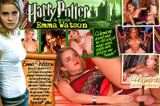 Harry Potter and nude Emma Watson
