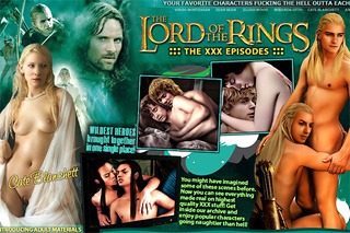 The Lord of the Rings nude celebrities