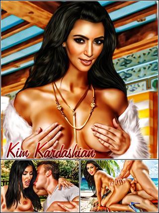 Kim Kardashian hot fucking sex pics