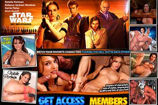 Star Wars nude celebrities