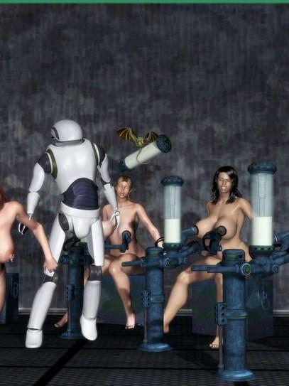 3D BDSM Artwork beauties