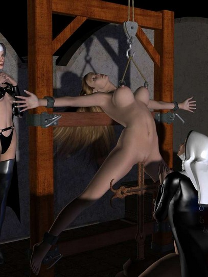 3D BDSM Artwork beauties