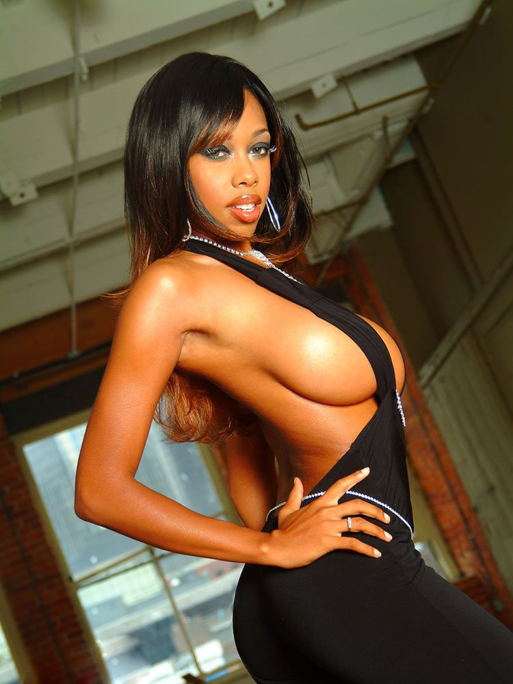 ebony adult models