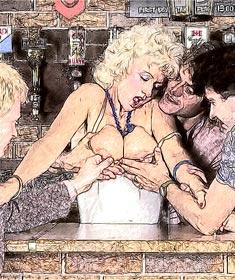 cartoon cuckold sex comics