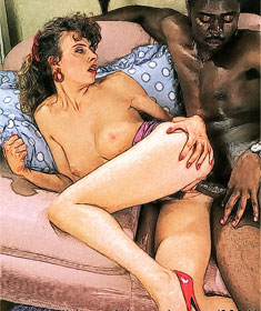 interracial and taboo art