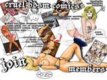 Cruel BDSM Comics
