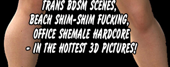 Smashing 3D shemale fuckfest