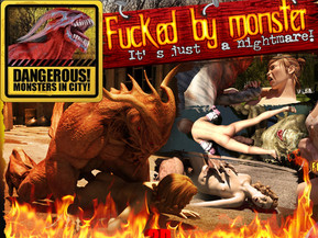Fucked by monsters