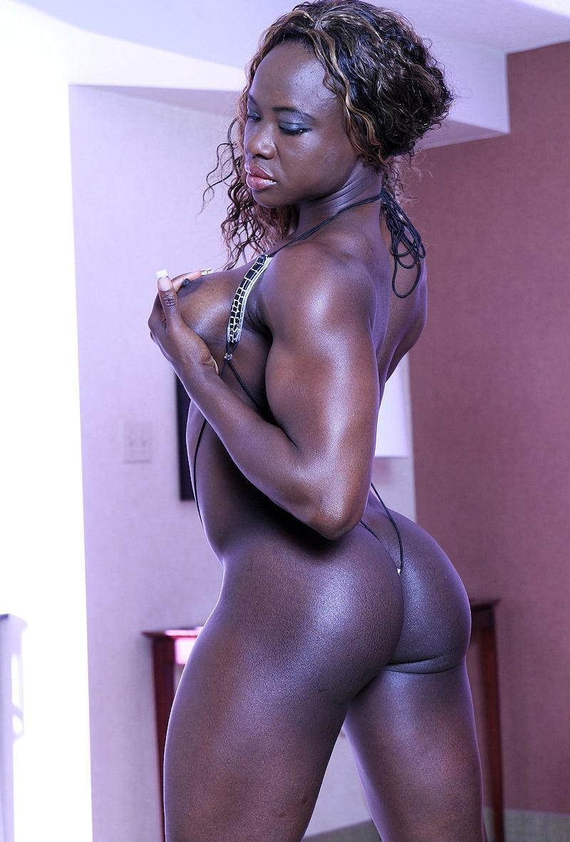 pics of black muscular naked women