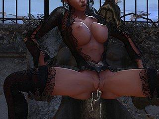 3d monster hentai