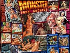free 3d monster sex