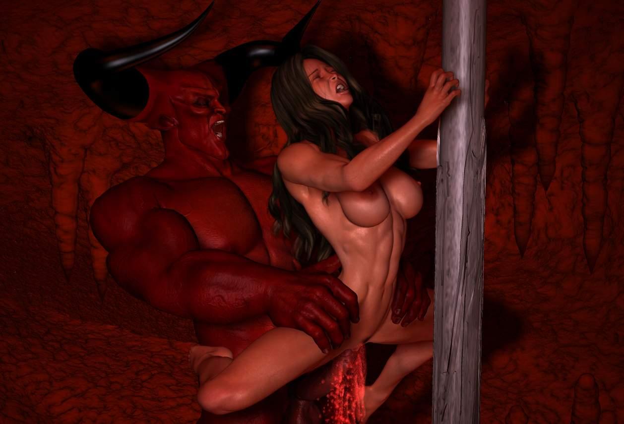 Демон Трахаеть Девушку