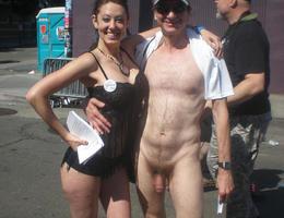 Cougar enjoys painting nudes of men set Image 5