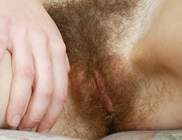 A delicate hairy pussy   gal Image 6