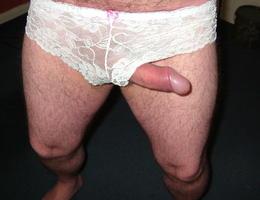 Crossdresser posing in beautiful lingerie galery Image 1