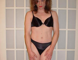 Crossdresser posing in beautiful lingerie gallery Image 8
