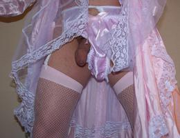 Perverse Crossdresser posing in Panties gal Image 5