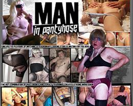 man in pantyhose