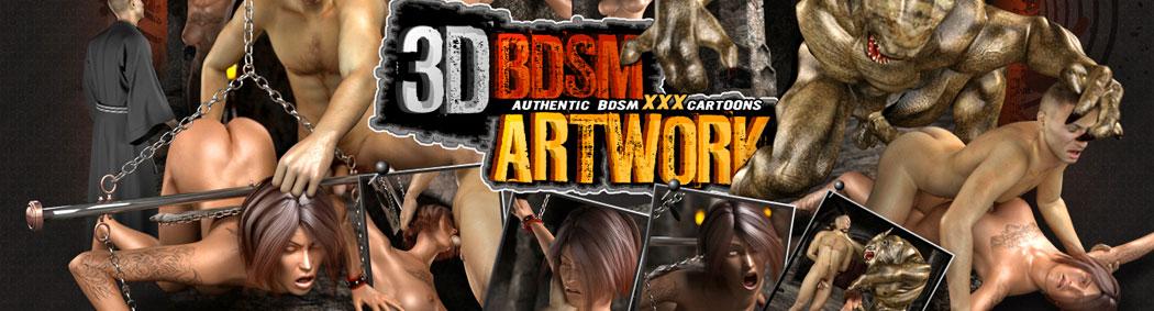 Join 3D BDSM Artwork